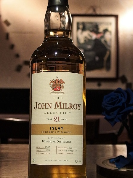 John Milroy Selection BOWMORE 1987-2009 21y_600