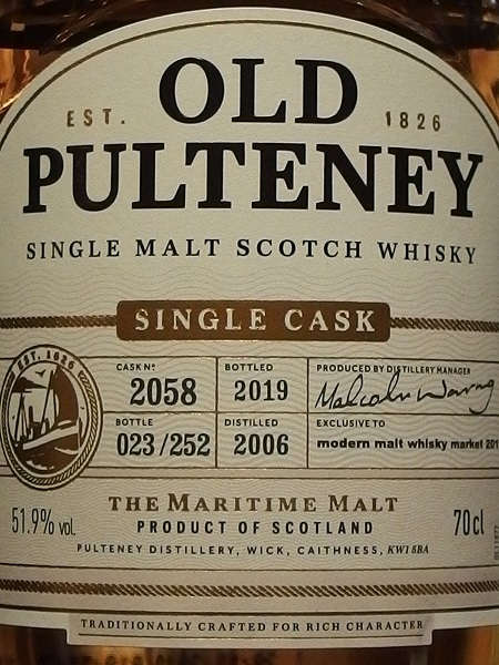 OLD PULTENEY 2006 - 2019_LL600