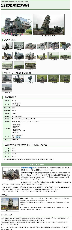 「陸自調査団」12式地対艦ミサイル