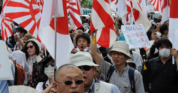 Anti-Korean sentiment thriving in Japan