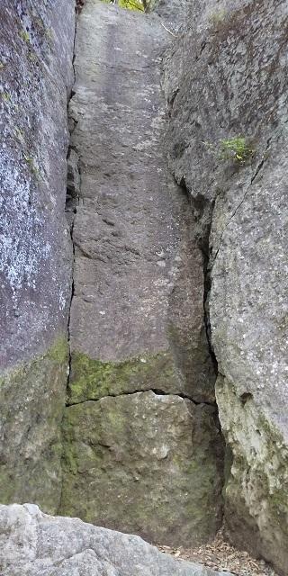 デケンナー左奥のルート
