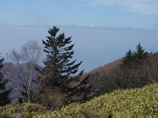 冠雪の白根三山