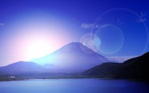富士山 日の出