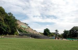 1910丸亀城石垣復旧状況2