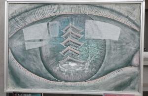 善通寺黒板アート30
