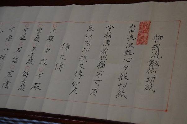 1911_柳剛流_切紙