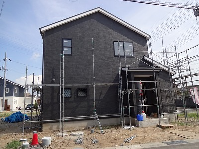 ■黒い外壁004
