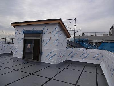 阪南市の屋上の家03