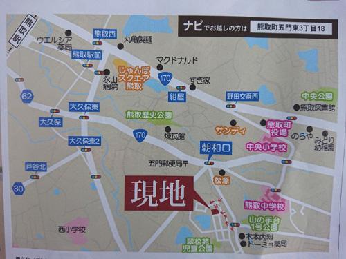 ■熊取ゼロエネハウスの地図