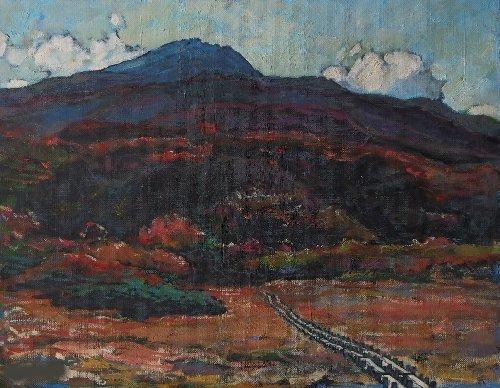 秋鳥海山10