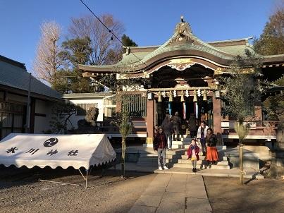 成増氷川神社 (2)
