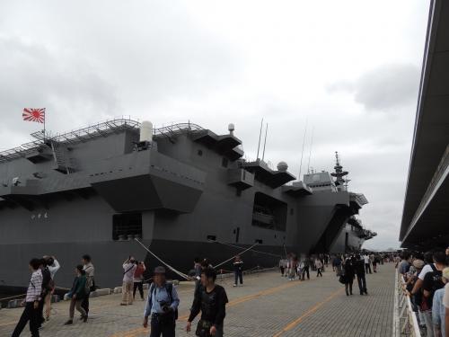 自衛隊 令和元年 フリートウィーク in 横浜 護衛艦 いずも ◆模型製作工房 聖蹟DSCN7864-5-6