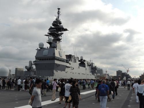 自衛隊 令和元年 フリートウィーク in 横浜 護衛艦 いずも ◆模型製作工房 聖蹟DSCN8083-5-6
