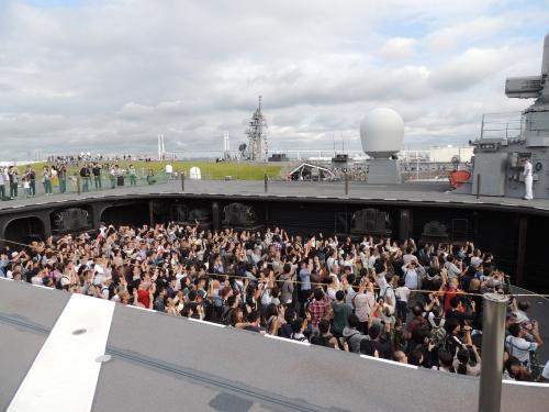 自衛隊 令和元年 フリートウィーク in 横浜 護衛艦 いずも ◆模型製作工房 聖蹟DSCN8094-5-7