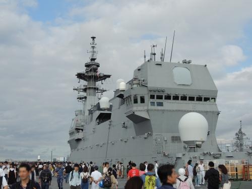 自衛隊 令和元年 フリートウィーク in 横浜 護衛艦 いずも ◆模型製作工房 聖蹟DSCN8124-5-6