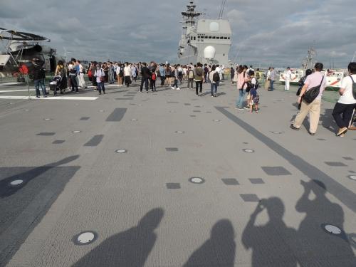 自衛隊 令和元年 フリートウィーク in 横浜 護衛艦 いずも ◆模型製作工房 聖蹟DSCN8126-5-6