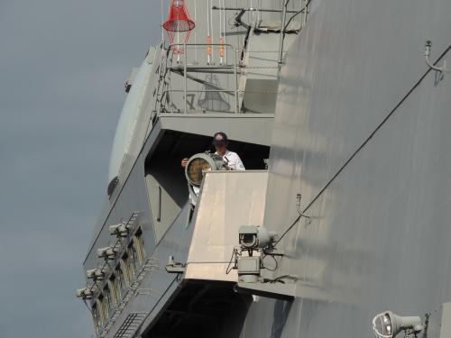 自衛隊 令和元年 フリートウィーク in 横浜 護衛艦 いずも ◆模型製作工房 聖蹟DSCN8148-5-6
