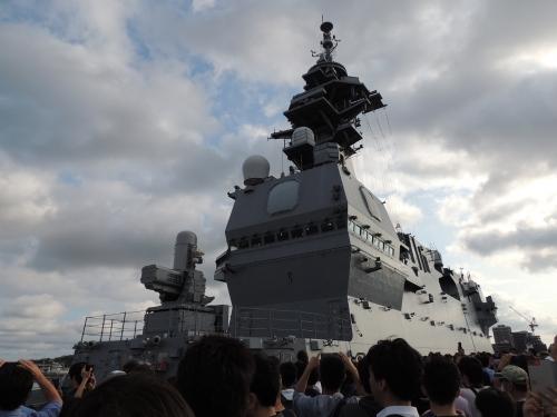 自衛隊 令和元年 フリートウィーク in 横浜 護衛艦 いずも ◆模型製作工房 聖蹟DSCN8164-2100