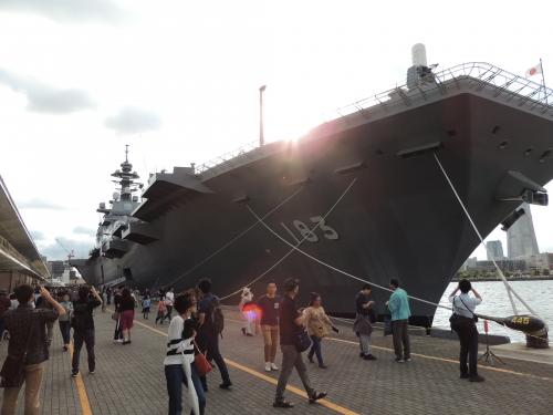 自衛隊 令和元年 フリートウィーク in 横浜 護衛艦 いずも ◆模型製作工房 聖蹟DSCN8228-5-6