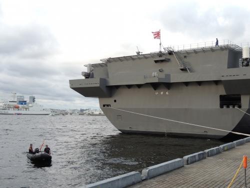 自衛隊 令和元年 フリートウィーク in 横浜 護衛艦 いずも ◆模型製作工房 聖蹟DSCN8241DSCN8439-5-6