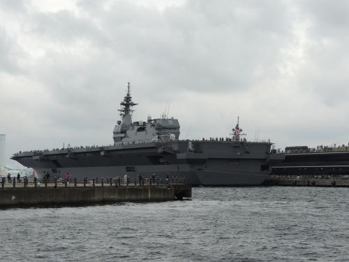 自衛隊 令和元年 フリートウィーク in 横浜 護衛艦 いずも VID_20191006_151139-5-6◆模型製作工房 聖蹟
