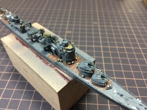 防空駆逐艦『秋月』組み上げ中IMG_8422◆模型製作工房 聖蹟