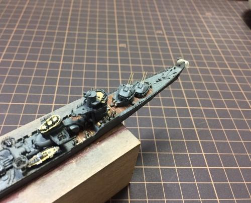 防空駆逐艦 秋月 製作中EMonUQpUwAA4uUN◆模型製作工房 聖蹟
