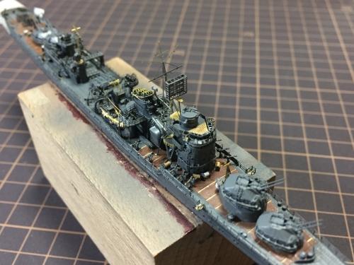 防空駆逐艦「秋月」製作中 21号電探取り付け IMG_8738◆模型製作工房 聖蹟