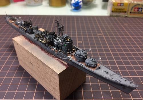 防空駆逐艦『秋月』 製作中 ウェザリング開始します!EOFE0zaU4AIu1qt◆模型製作工房 聖蹟