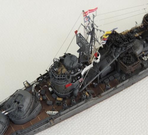 防空駆逐艦 『秋月』 DSCN5937-1-3-1◆模型製作工房 聖蹟