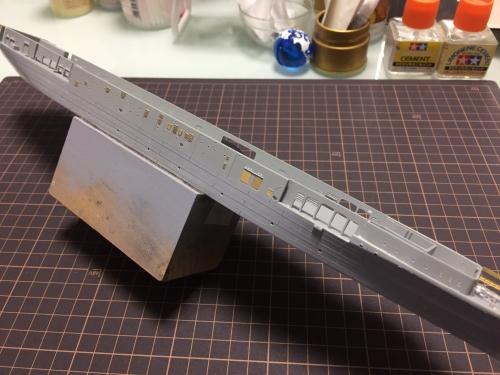 バンカーヒル 船体 製作中ERnAjgvU4AAnSef◆模型製作工房 聖蹟
