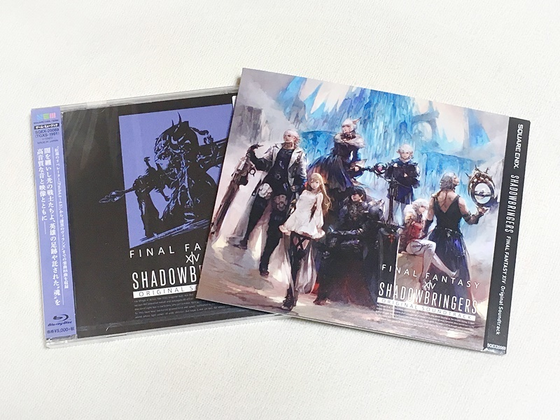 【映像付サントラ/Blu-ray Disc Music】SHADOWBRINGERS: FINAL FANTASY XIV Original Soundtrack