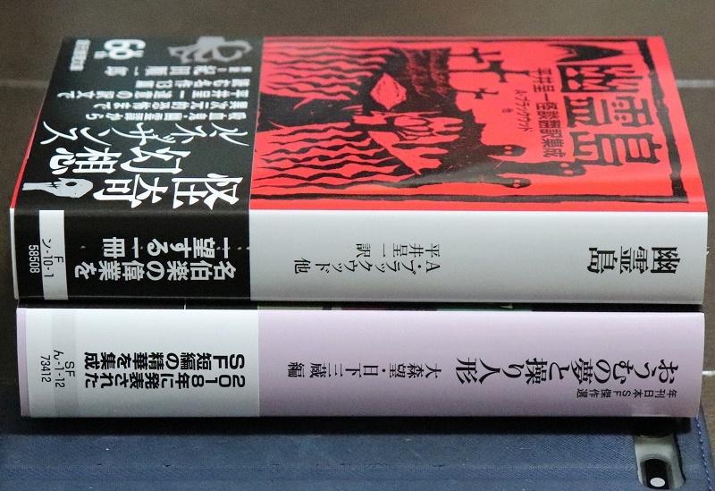 今日買った本】 『幽霊島 平井呈一怪談翻訳集成』、『おうむの夢と操り ...