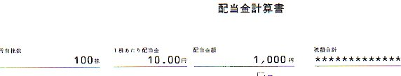 ジャパンフーズ2019配当金