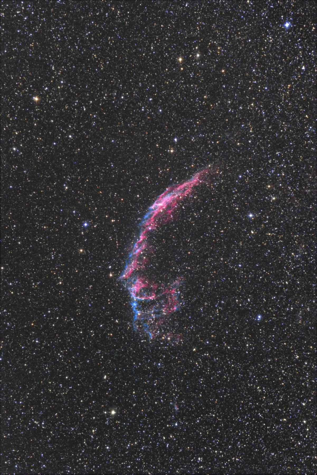 【星雲】NGC6992 網状星雲(東)