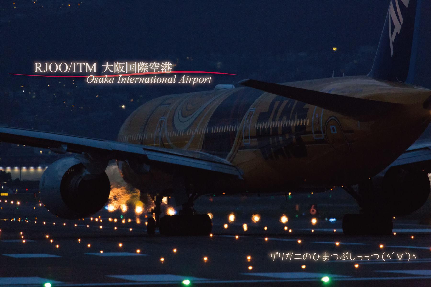 【飛行機】伊丹空港でひまつぶし。