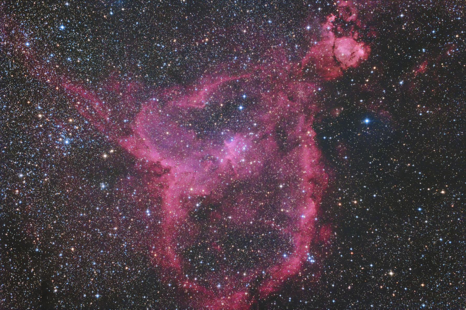 【星雲】IC1805 ハート星雲