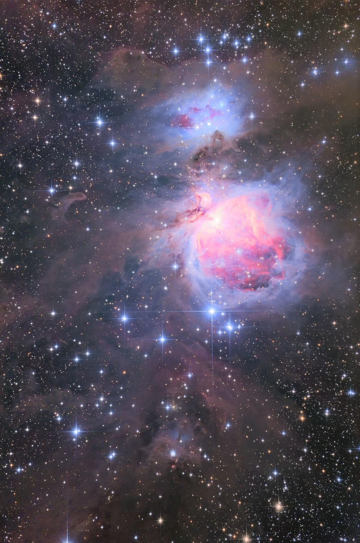 【星雲】M42 オリオン大星雲 (と、画像処理)
