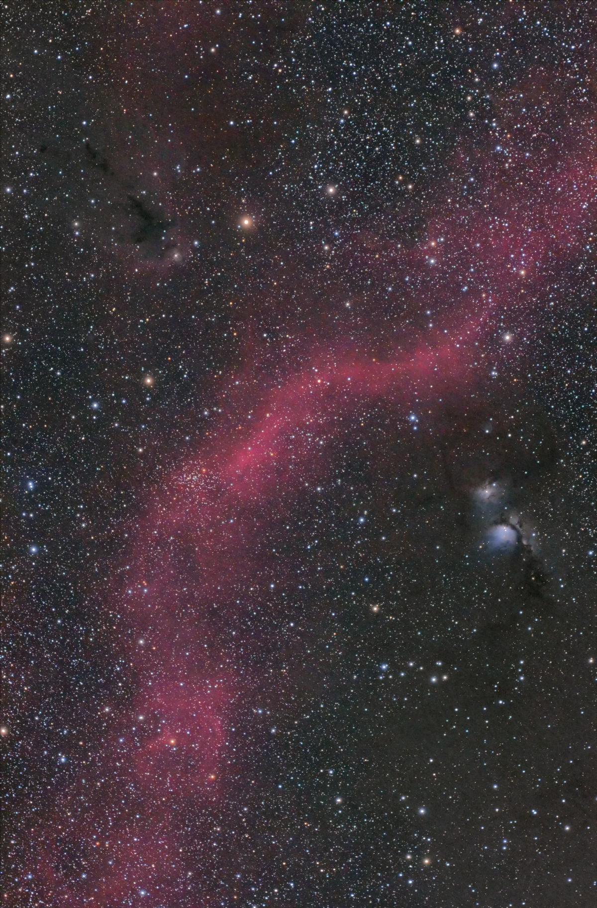 【星雲】M78~LDN1622 赤猫君ファーストライト