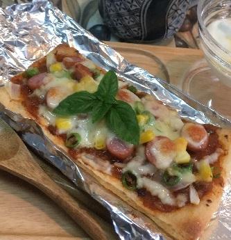 揚げピザ1