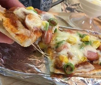 油揚げピザ6