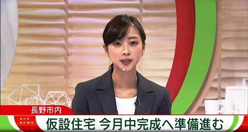 s-191120仮設住宅今月中完成へ準備進む(NHK長野)