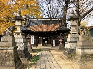 天神社(佐間天神社)