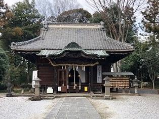 赤城神社(植下町)1