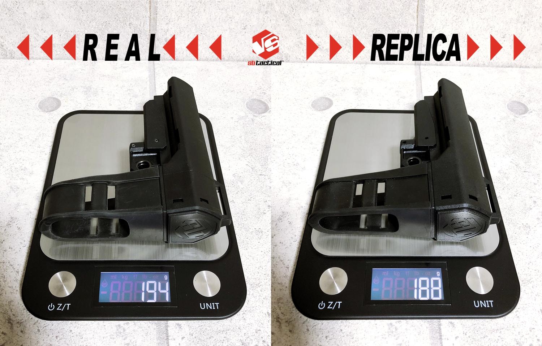 2-1 SB TACTICAL SBA3 『実物 vs レプ』 話題のSBA3 レプと実物の違いを徹底検証!! 購入 開封 比較 検証 レビュー!! したるの巻!! ストック プレース レプリカ タイプ