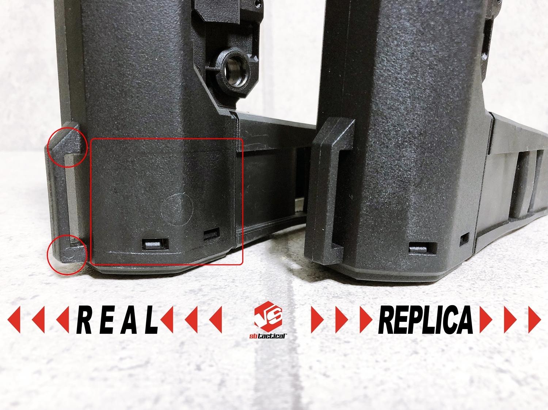 11 SB TACTICAL SBA3 『実物 vs レプ』 話題のSBA3 レプと実物の違いを徹底検証!! 購入 開封 比較 検証 レビュー!! したるの巻!! ストック プレース レプリカ タイプ