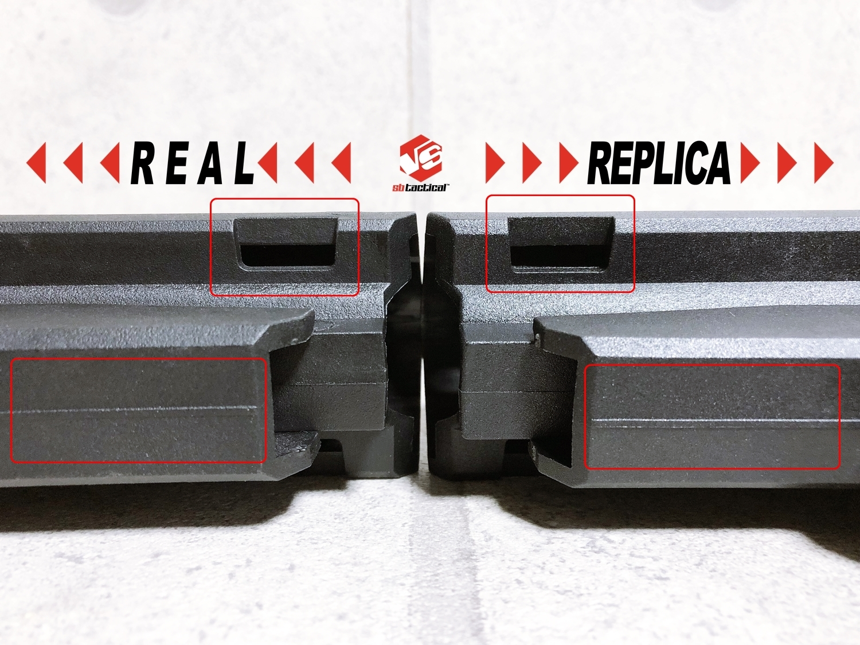 16 SB TACTICAL SBA3 『実物 vs レプ』 話題のSBA3 レプと実物の違いを徹底検証!! 購入 開封 比較 検証 レビュー!! したるの巻!! ストック プレース レプリカ タイプ