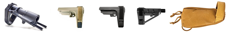 PR SB TACTICAL SBA3 『実物 vs レプ』 話題のSBA3 レプと実物の違いを徹底検証!! Pistol Stabilizing Brace 購入 開封 比較 検証 レビュー!!