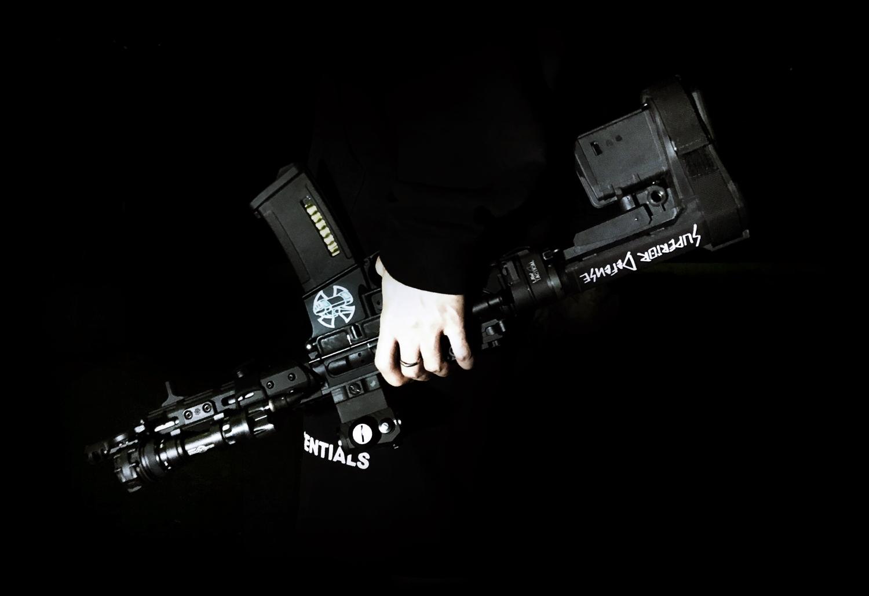 0 次世代 M4 CQB-R NEWカスタム続編!! SBA3 P-MAG 外付け リポバッテリーケース & NOVESKE ハンドガード トルクス ネジ 計画!! DIY 取付 レビュー!!