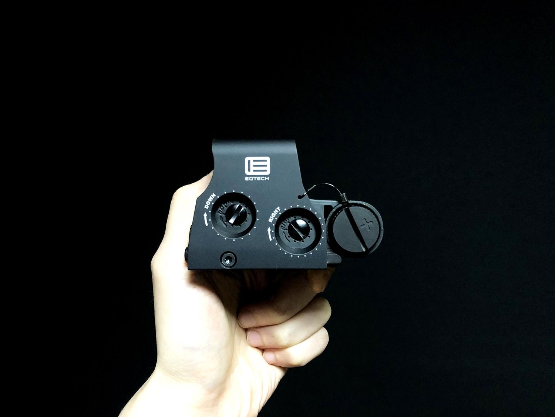 0 実物 EOTech XPS3-0 HOLOGRAPHIC SIGHT BLACK GET!! 次世代 M4 CQB-R カスタム 続編!! イオテック ホロサイト 購入 取付 レビュー!!